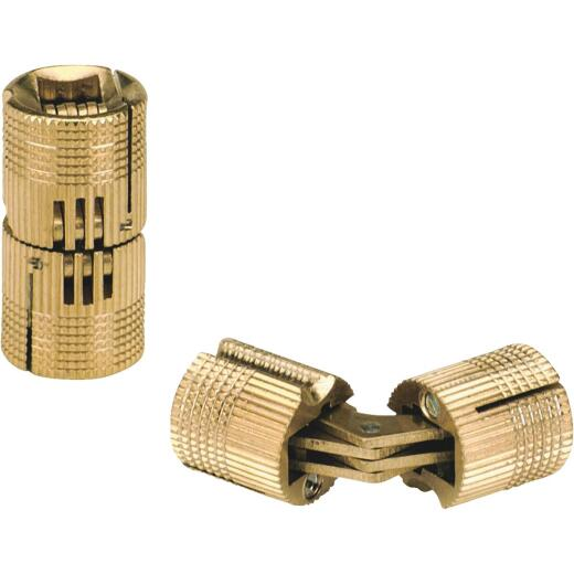 SOSS Solid Brass 3/4 In. Invisible Barrel Hinge, (2-Pack)