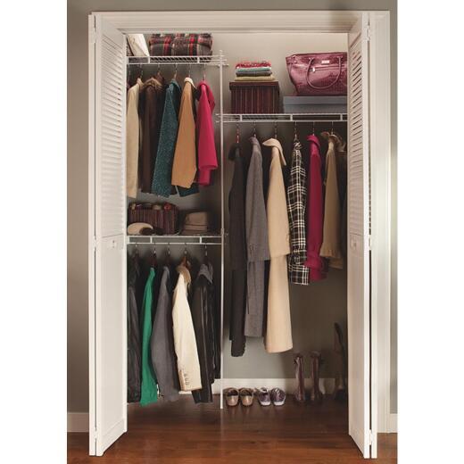 ClosetMaid 5 Ft. Shelf & Rod Closet System