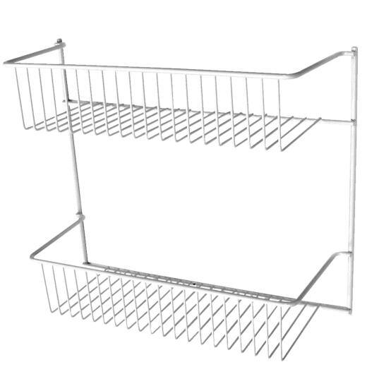 ClosetMaid 2-Tier Storage Rack