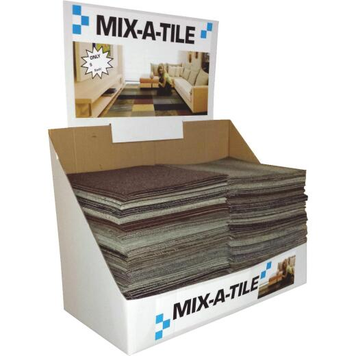 Natco Home 24 In. W x 24 In. L Mixed Colors Indoor Carpet Tile