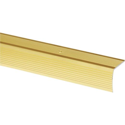 Do it Satin Gold 1-1/8 In. W x 72 In. L Aluminum Stairnose