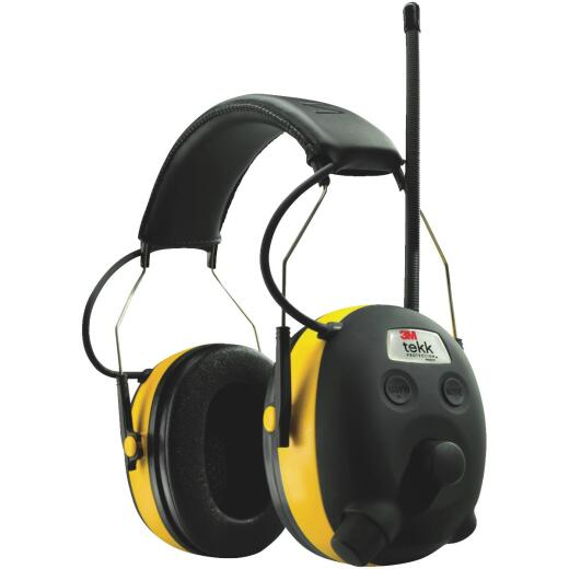3M Digital Worktunes NRR 22dB Industrial Radio Earmuffs