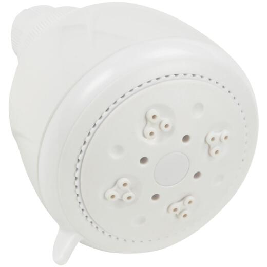 Home Impressions 3-Spray 2.0 GPM Fixed Showerhead, White