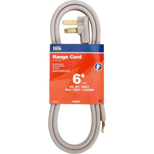Do it Best 6 Ft. 6/2 + 8/1 Ga. 3-Conductor Range Cord