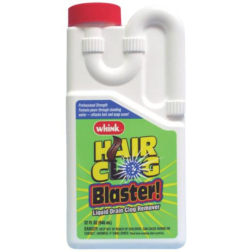 Whink 32 Oz. Hair Clog Blaster Liquid Drain Cleaner