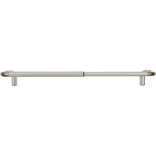 Umbra Twilight Wrap Around 28 In. To 48 In. 3/4 In. Single Curtain Rod, Nickel
