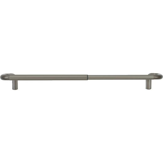 Umbra Twilight Wrap Around 88 In. To 144 In. 3/4 In. Single Curtain Rod, Nickel
