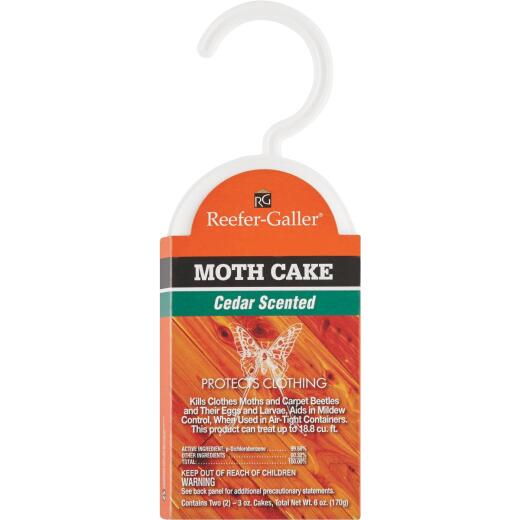 Reefer-Galler Cedar 3 Oz. Cakes Cedar Hang Up (2-Pack)