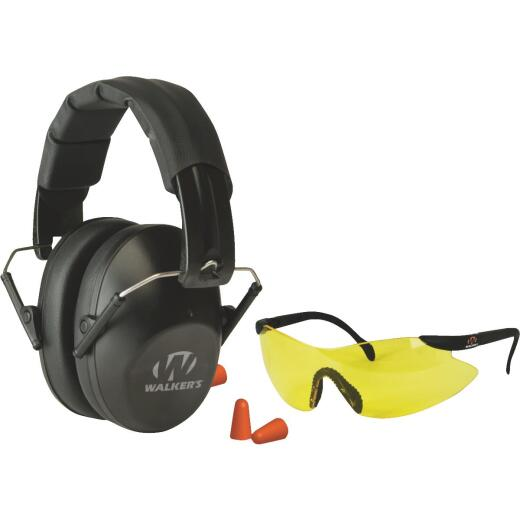 Walker's 22 dB NRR Earmuffs Combo Kit