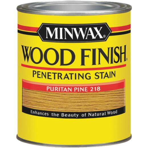 Minwax Wood Finish Penetrating Stain, Puritan Pine, 1/2 Pt.