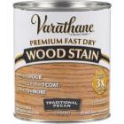 Varathane Fast Dry Traditional Pecan Urethane Modified Alkyd Interior Wood Stain, 1 Qt. Image 1