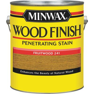 Minwax Wood Finish Penetrating Stain, Fruitwood, 1 Gal.