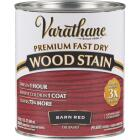 Varathane Fast Dry Barn Red Urethane Modified Alkyd Interior Wood Stain, 1 Qt. Image 1