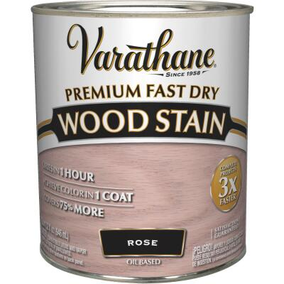 Varathane Fast Dry Rosewood Urethane Modified Alkyd Interior Wood Stain, 1 Qt.