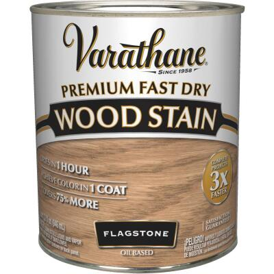 Varathane Fast Dry Flagstone Urethane Modified Alkyd Interior Wood Stain, 1 Qt.